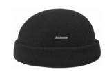 stetson docker cap zwart zeemansmuts