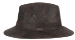 hatland thurman leren hoed