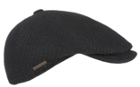 hatland talon zwarte flatcap