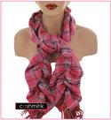 dames crinkle sjaal ruit