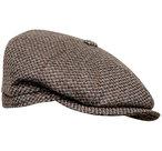 tweed herenpet bruin