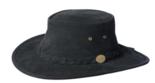 squahy suede hoed zwart leer leder leren