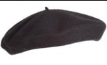 hatland alpino pet franse baret zwart