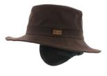 herman wax waxhoed outdoor hoed herenhoed bruin
