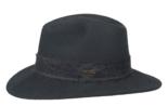 hoed outdoor zwart sally hatland wol wollen