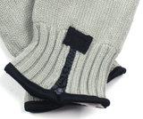 lichtgrijs fleece mannenhandschoen