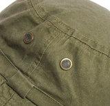 groen khaki katoen
