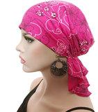hoofddoekje roze