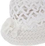 witte hoed bruidshoed gelegenheid