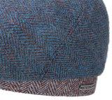 Stetson 6-Panel cap wool aparte pet met twee kleuren visgraat_
