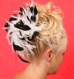 haarversiering fascinator haarklem