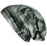 batik print grijs zwart