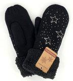 zwarte handschoenen dames winter