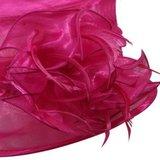 dameshoed feesthoed pink