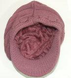 PATTY warme dames winter baret met teddy voering_