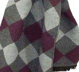 Kwaliteits herensjaal met klassiek argyle motief_