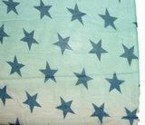 Zomerse sjaal met sterren in trendy kleuren_