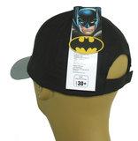 Kids jongenspet Batman katoenen cap kleur zwart_