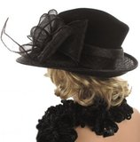 bruiloftshoed hoed voor begrafenis