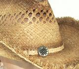 western amerikaanse hoed zomerhoed