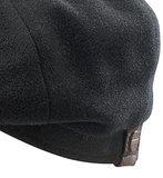 Stetson Hatteras Wool/ Casmere kleur donkerantraciet met oorflappen!_