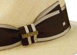 zomerhoed bruine band