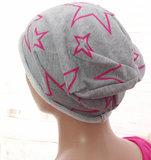 Trendy muts voor chemo haarverlies_