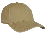 Stetson Amherst Flex fit voorgevormde cap beige met UV- protectie 40+_