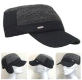 Warme cadet cap met oorflappen army  model_