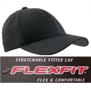 FLEXFIT  Originele Flexfit Cap made in USA zwart