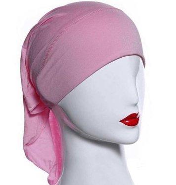 Chemo TUBE BANDANA kleur roze