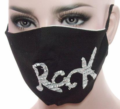 Mondkapje mondmasker wasbaar herbruikbaar zwart