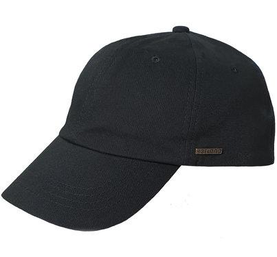 Hatland baseball herenpet grote maat kleur zwart zomer  pet XXL 62 63 64 centimeter
