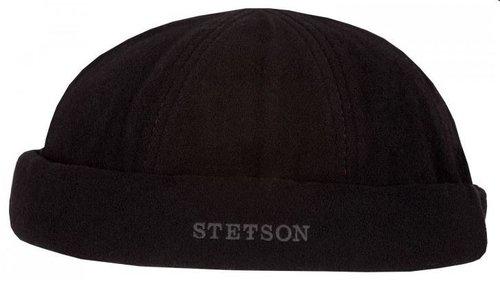 Stetson Vangordon Wool cashmere muts kleur zwart