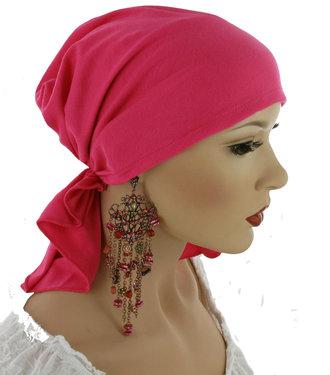 Chemo muts hoofddoekje voorgevormd en comfortabel Pink