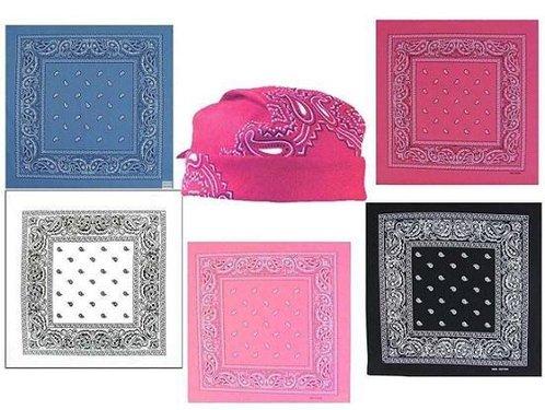 Hoofdband bandana Paisley sjaal hoofddoek hiphop