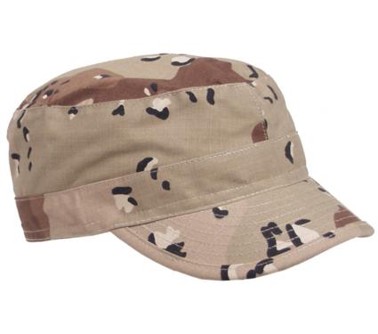 Legerpetje. Cuba pet US field cap beige camouflage