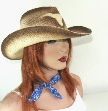 Cowboyhoed dames festivalhoed Longhorn strohoed