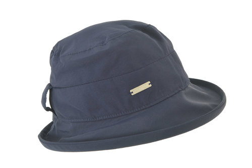 Seeberger blauw regenhoedje UV protectie 50+