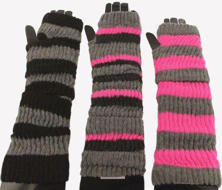 Vingerloze handschoenen armwarmers in verschillende kleuren