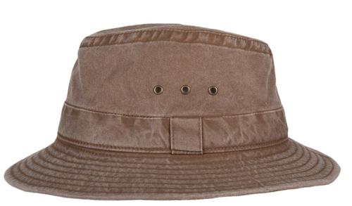 Hatland Tennant katoenen hoed lichtgewicht met UV protectie 50+