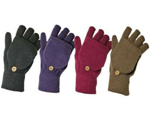 Vingerloze handschoenen in 4 kleuren