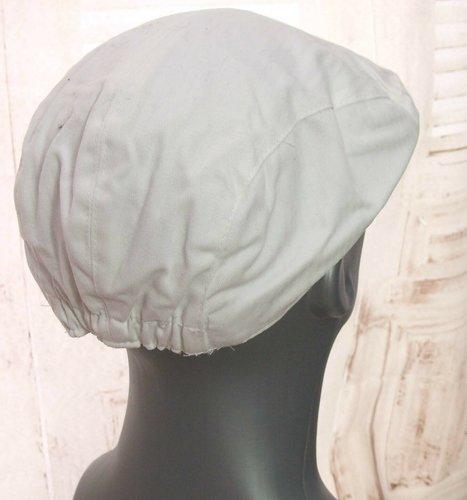 Zomer ivy flatcap katoenen platte pet kleur wit