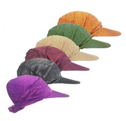 Bandanacap met klepje in verschillende kleuren