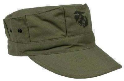 US ARMY  MARINE CORPS  Fatigue Cap OLIVE