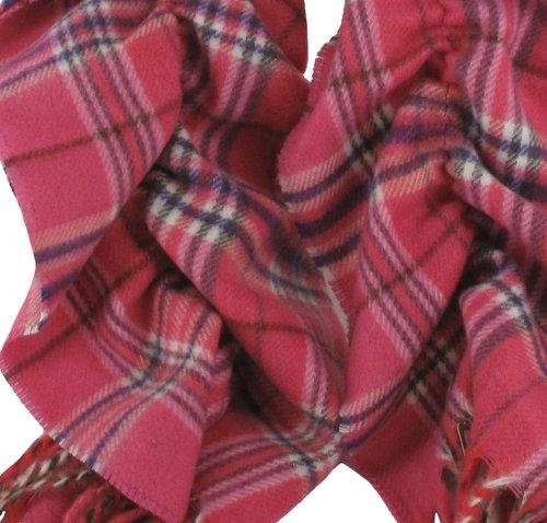 BORA Luxe Cashmink Nova Check Dames Sjaal