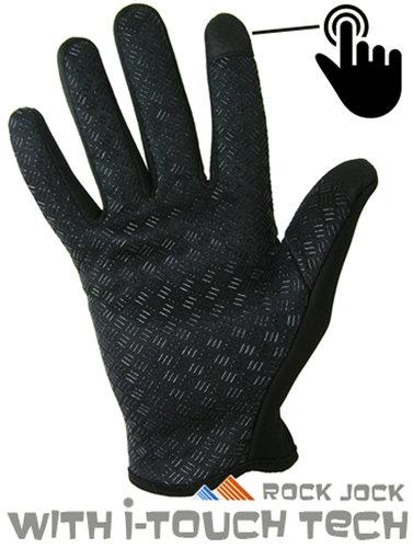 Flexibele Sport Outdoor Touchscreen Fleece gevoerde Handschoenen met Grip