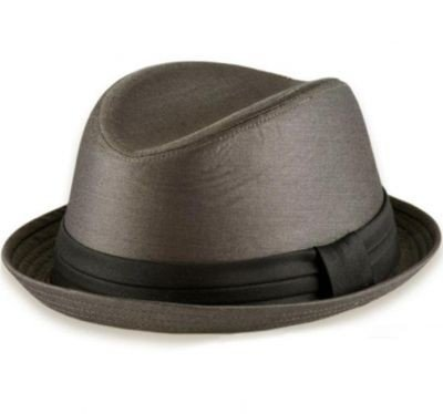 FARAJI  Metalic Look UP BRIM hat