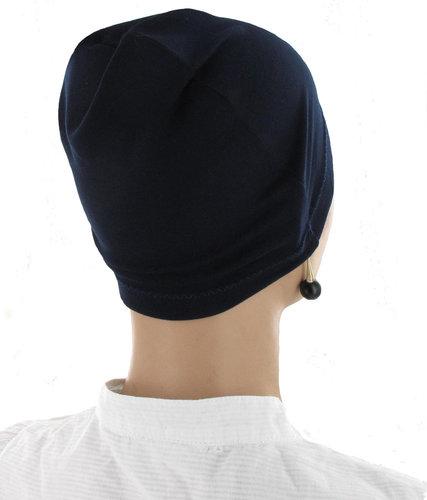 Comfortabele donkerblauwe Chemo basismuts