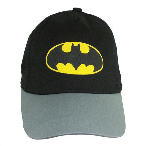 Kids jongenspet Batman katoenen cap kleur zwart